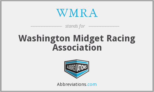 What does WMRA stand for?