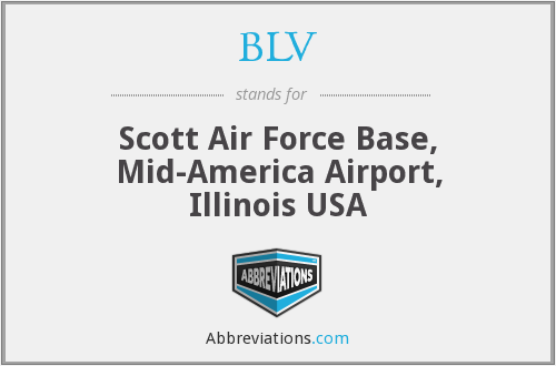 BLV - Scott Air Force Base, Mid-America Airport, Illinois USA