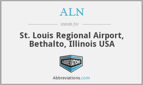 ALN - St. Louis Regional Airport, Bethalto, Illinois USA