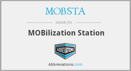 What does MOBSTA stand for?