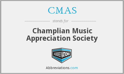 CMAS - Champlian Music Appreciation Society