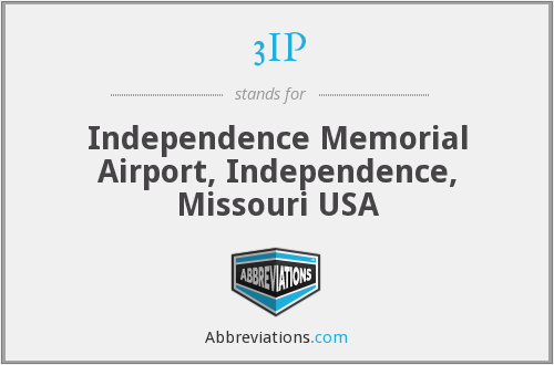 3IP - Independence Memorial Airport, Independence, Missouri USA