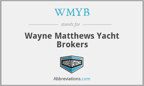 WMYB - Wayne Matthews Yacht Brokers