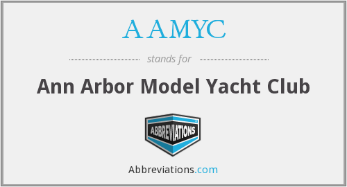 AAMYC - Ann Arbor Model Yacht Club