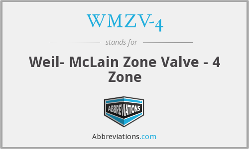 What does WMZV-4 stand for?