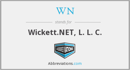 WN - Wickett.NET, L. L. C.