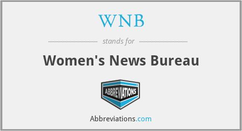 WNB - Women's News Bureau