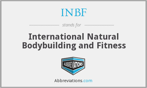 INBF - International Natural Bodybuilding and Fitness