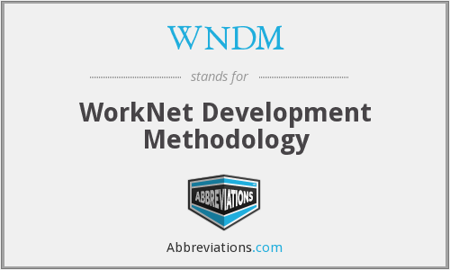 What does WNDM stand for?