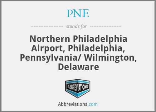 PNE - Northern Philadelphia Airport, Philadelphia, Pennsylvania/ Wilmington, Delaware