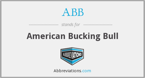 What does bucking stand for?