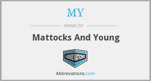 MY - Mattocks And Young