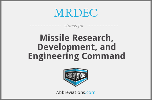 What does MRDEC stand for?