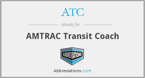 ATC - AMTRAC Transit Coach