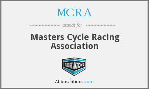 What does MCRA stand for?