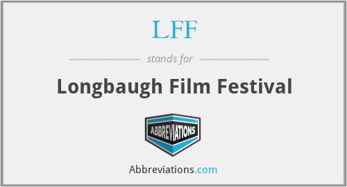 LFF - Longbaugh Film Festival