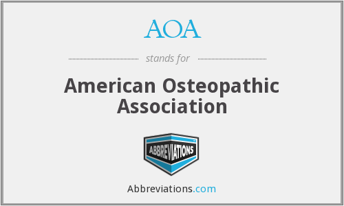 AOA - American Osteopathic Association