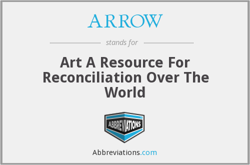 ARROW - Art A Resource For Reconciliation Over The World