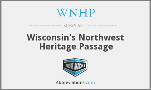 WNHP - Wisconsin's Northwest Heritage Passage