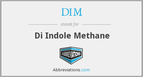 DIM - Di Indole Methane