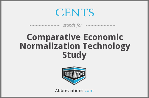 CENTS - Comparative Economic Normalization Technology Study
