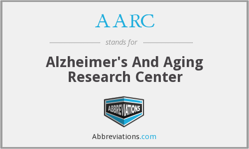 AARC - Alzheimer's And Aging Research Center