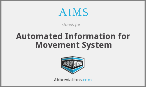 AIMS - Automated Information for Movement System