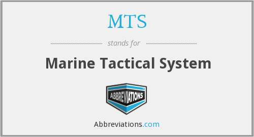 MTS - Marine Tactical System