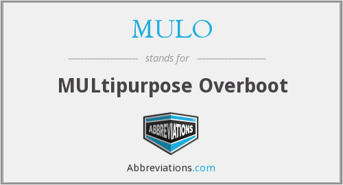 MULO - Multipurpose Overboot