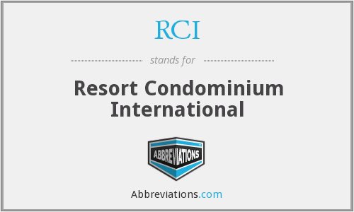 RCI - Resort Condominium International