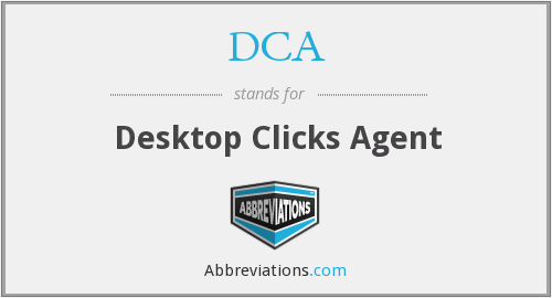 DCA - Desktop Clicks Agent