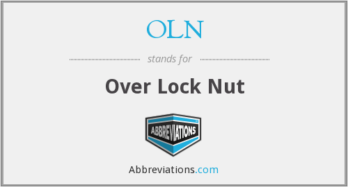 OLN - Over Lock Nut