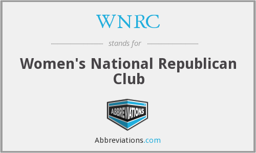 WNRC - Women's National Republican Club