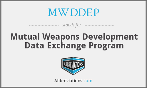 What does MWDDEP stand for?