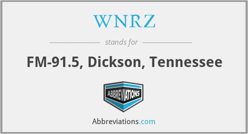 WNRZ - FM-91.5, Dickson, Tennessee