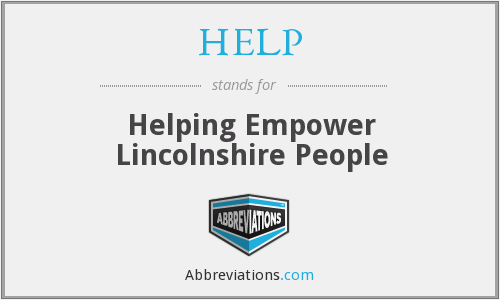 HELP - Helping Empower Lincolnshire People