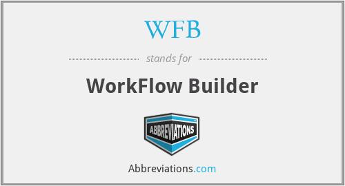 WFB - WorkFlow Builder