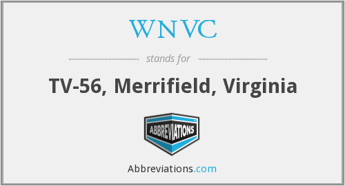 WNVC - TV-56, Merrifield, Virginia