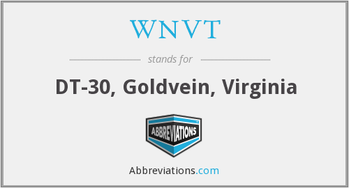What does WNVT stand for?