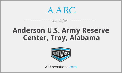 AARC - Anderson U.S. Army Reserve Center, Troy, Alabama