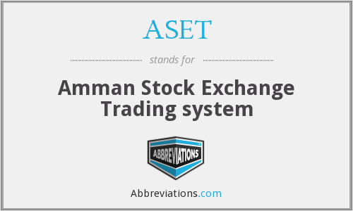 ASET - Amman Stock Exchange Trading system