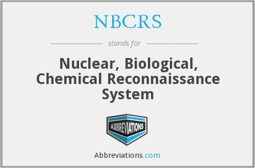 What does NBCRS stand for?