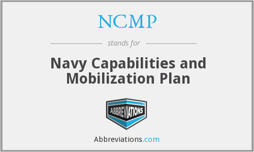 What does NCMP stand for?