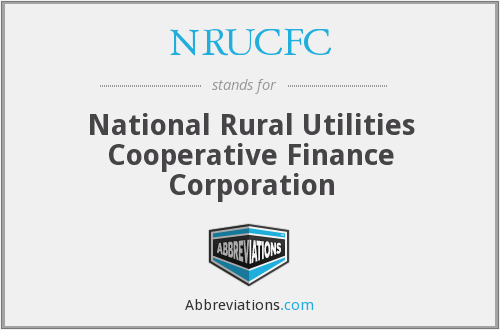 What does NRUCFC stand for?