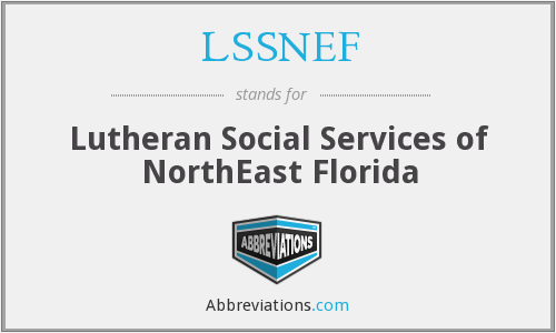 What does LSSNEF stand for?