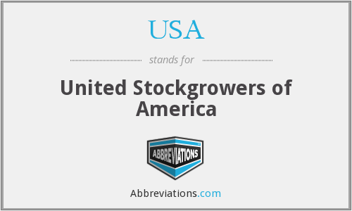 USA - United Stockgrowers of America