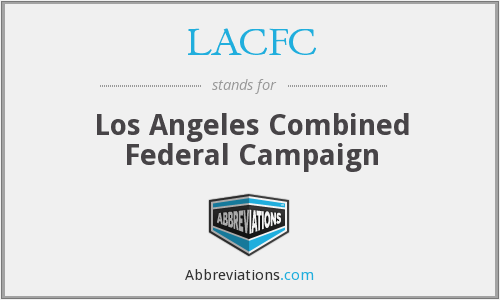What does LACFC stand for?