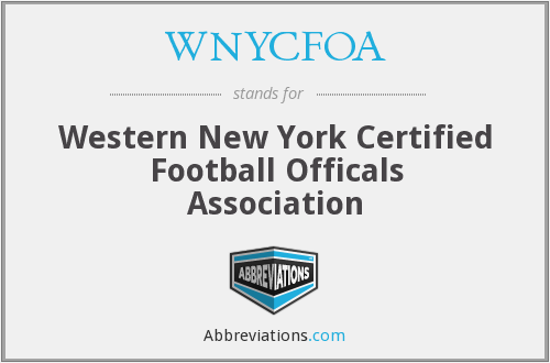 What does WNYCFOA stand for?