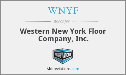 WNYF - Western New York Floor Company, Inc.