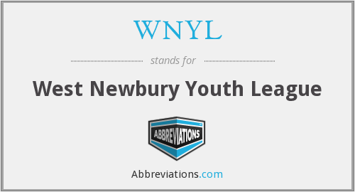 WNYL - West Newbury Youth League
